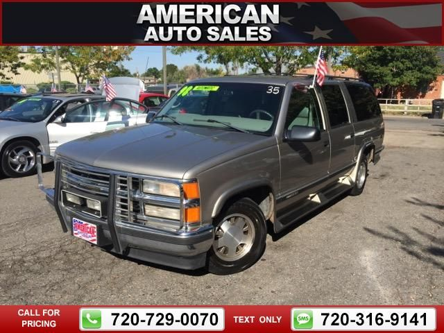 1998 Chevrolet Chevy Suburban C1500 2wd Gold Call For Price Miles