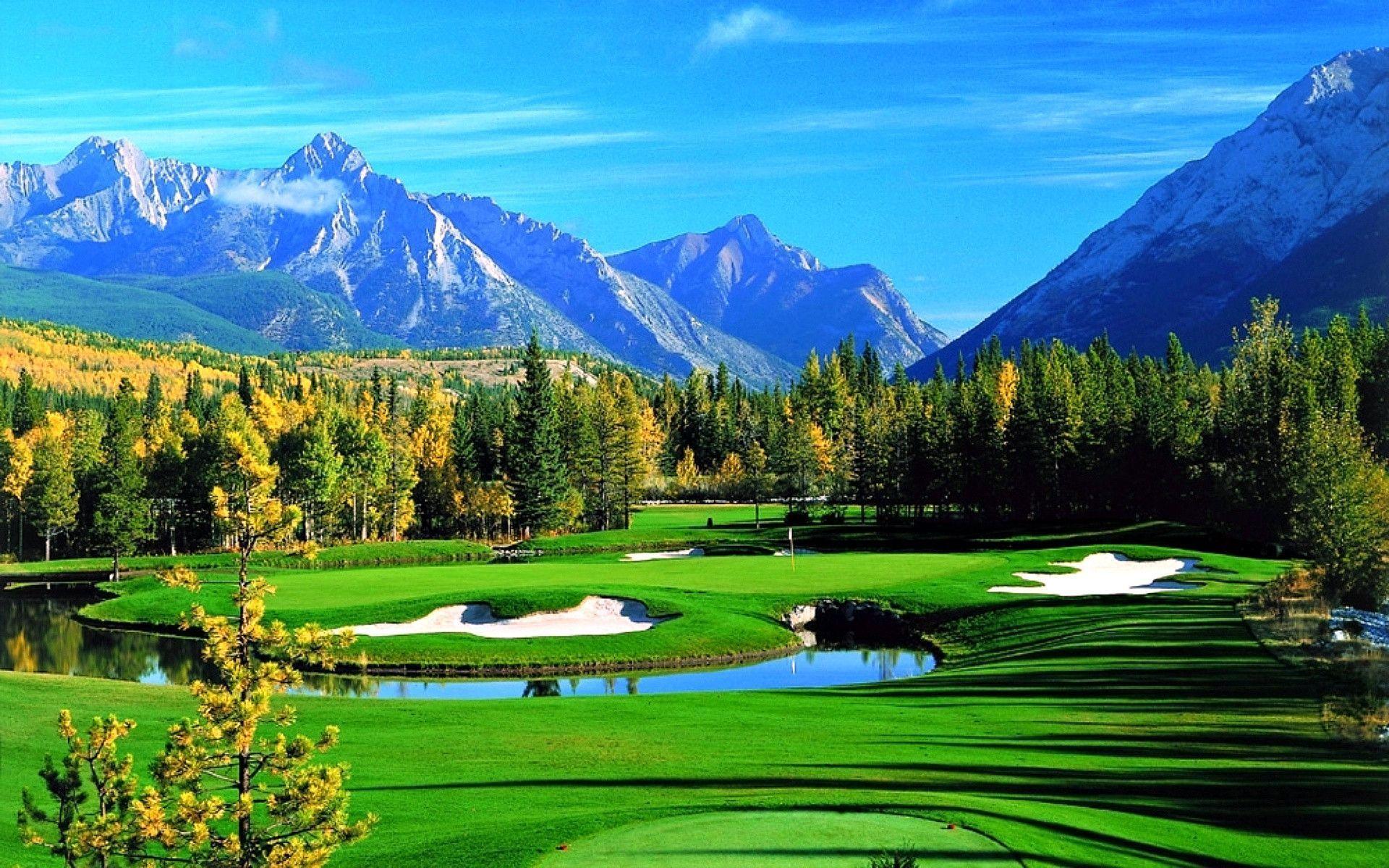 Golf Desktop Wallpapers Wallpaper Cave Golf course
