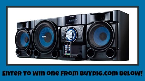 {Review & Giveaway} Sony's Hi-Fi Music System Brings BIG Sound to Your iPod - Tech Savvy Mama