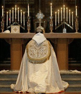 """Tantum Ergo Sacramentum..."" Some Anglicans do Benediction, All can, None must."