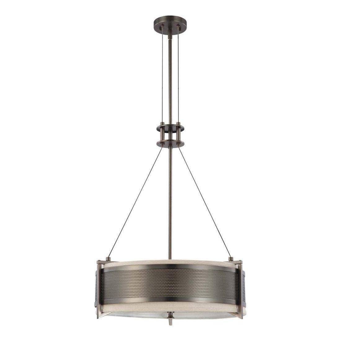 Nuvo Lighting 60-4 4 Light Diesel Round Large Pendant