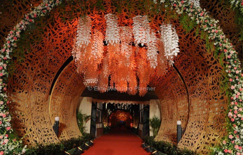 Tunnel Entrance The Day In 2019 Indian Wedding Planner