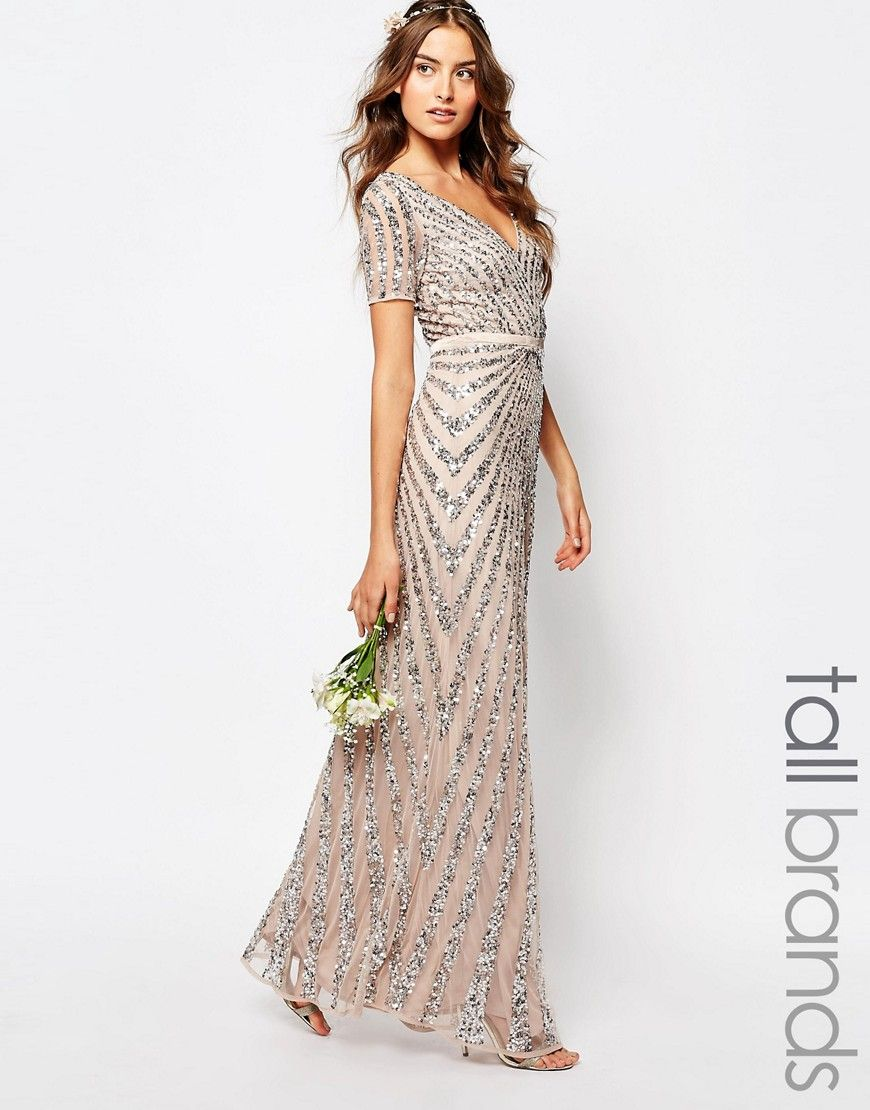 Tall party maxi dresses