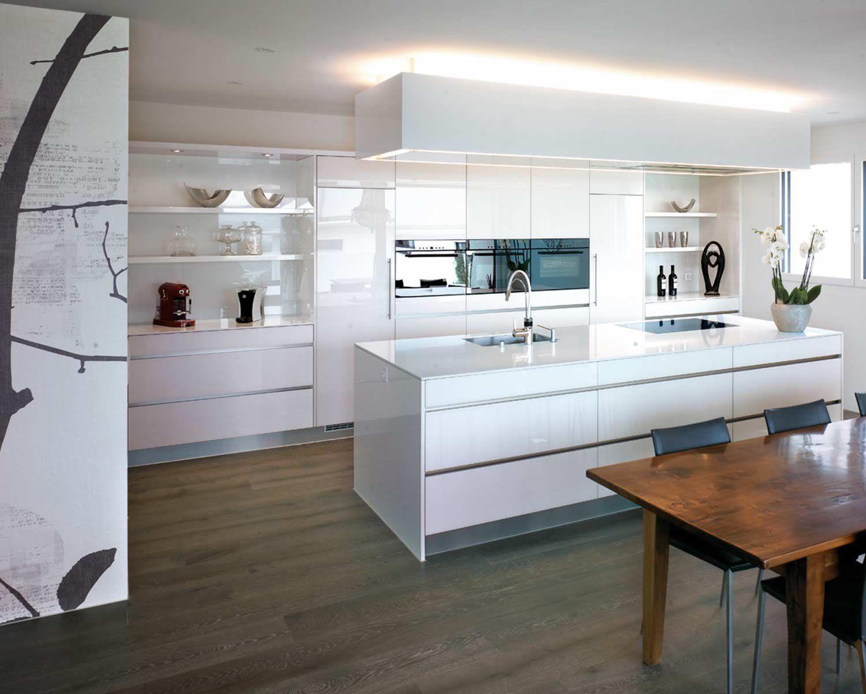Küchenblock, Küchen, Gestaltung Im Küchenbereich, 3D Küchenplanung, Weisser  Küchenblock, Küche In