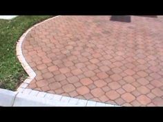 How To Stain Or Restore Faded Brick Pavers With New Paver Dye Pavers Brick Pavers Outdoor Landscaping