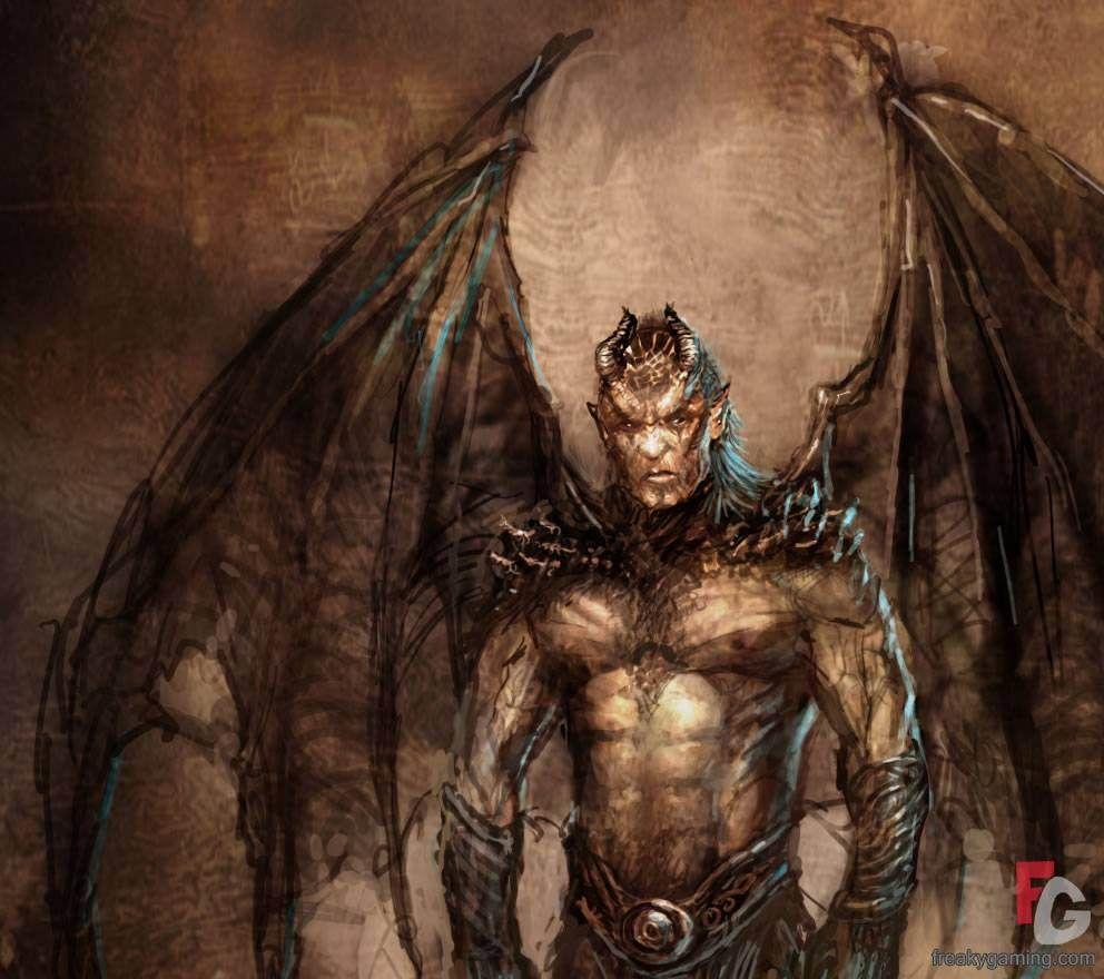 Drawings Of Satan And Demons . Conan Hyborian