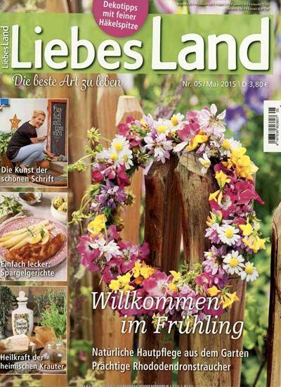 b84b501424b5d7 Willkommen im Frühling - Natürliche Hautpflege aus dem Garten. Gefunden in  Liebes  Land