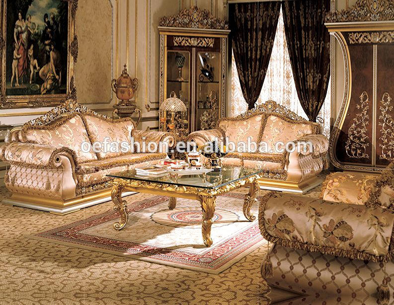 Oe Fashion Luxury Customize Gold Europe Style Wood Carved Sofa Living Room View Sofa W Luxury Sofa Living Room European Home Decor Living Room Decor Furniture