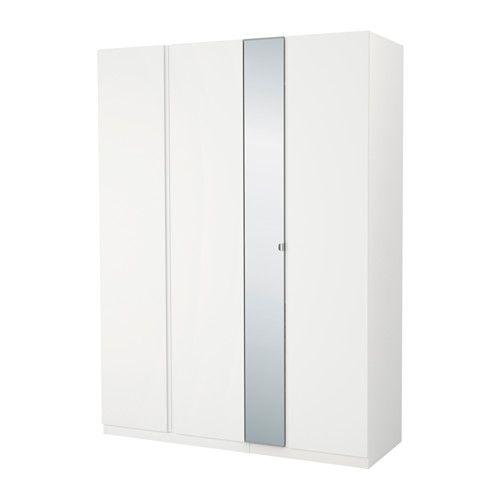 PAX Szafa, biały, Vikanes Vikedal Pax wardrobe, Bedrooms