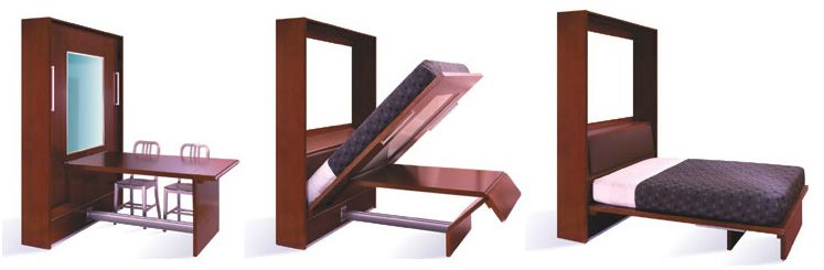 Inova - TableBeds, Sofa-WallBeds, and traditional Murphy Beds made ...