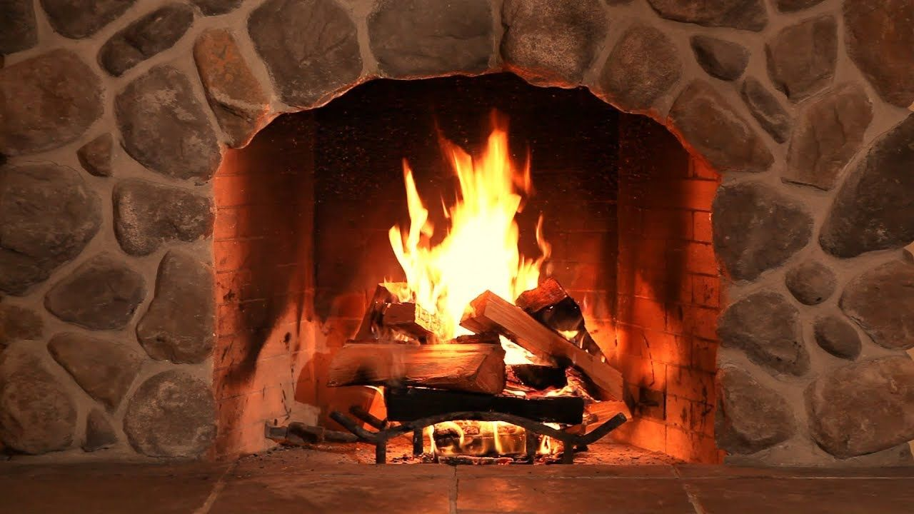 Tv Fireplace With Relaxing Crackling Sounds Of Wood Burning 10 Hours Fireplace Christmas Fireplace Comfort And Joy