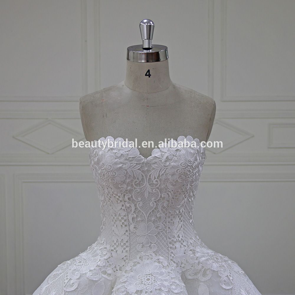 Ridiculous wedding dresses  Source XF newest design of ball gown wedding dress  fashion
