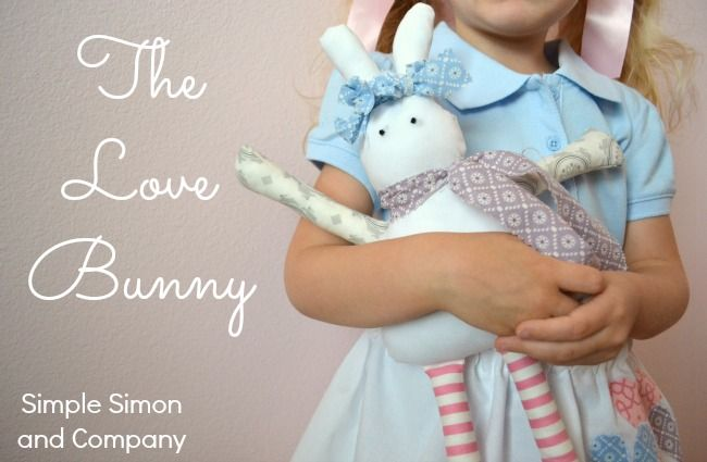 Free tute on how to make a bunny, very sweet: thanks so xox