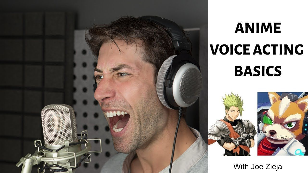 how to make voice actor for anime