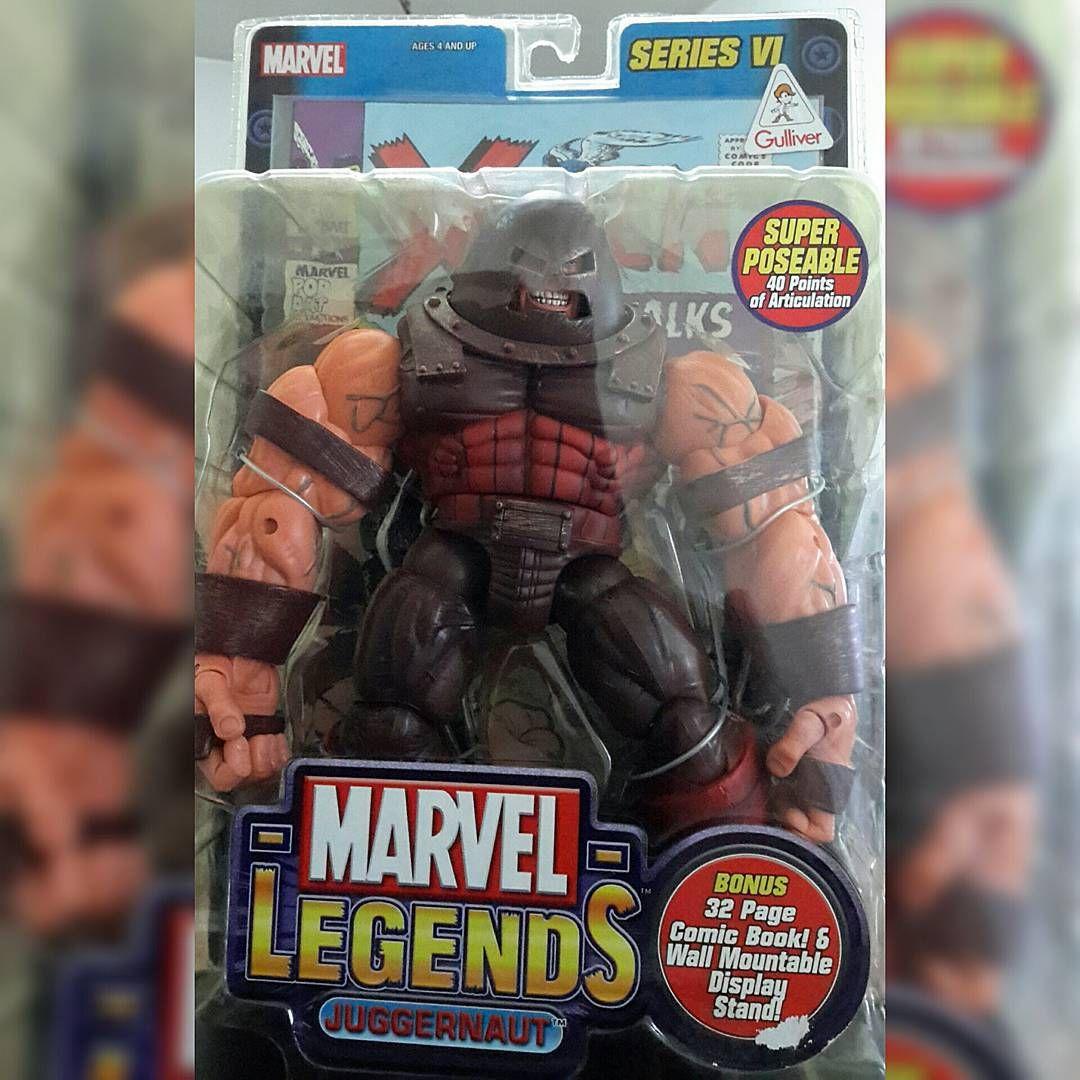 #Marvel #Legends #Juggernaut  #toybiz #action #figures #figuras #ação #heróis #comics #Quadrinhos #villains #viloes #xmen