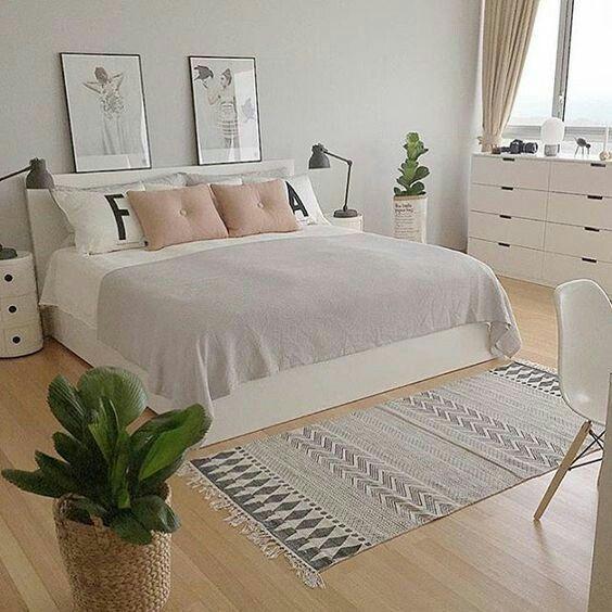 skandinavisch Schlafzimmer einrichten, Wohn