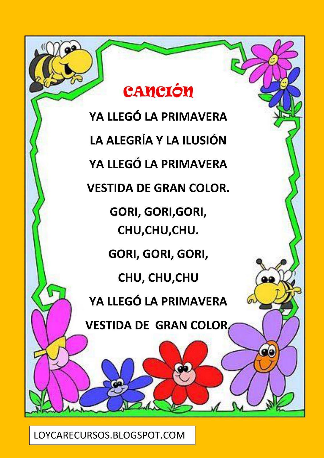 poesia dia de la primavera (4) | primavera | Pinterest | Dia de la ...