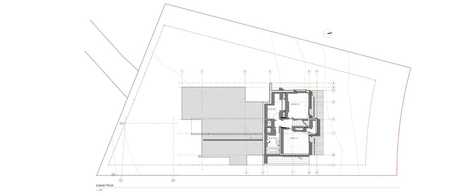 Gallery Of Nelson House A K A Architecture 23 Nelson House Architecture Plan Architecture