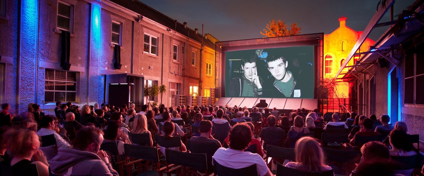 where to find open air cinema