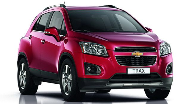 Chevy Small Suv >> New Chevrolet Trax Small Suv Pictured And Detailed Ahead Of