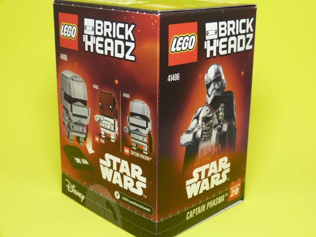 Captain Phasma Star Wars 41486 LEGO Brick Headz