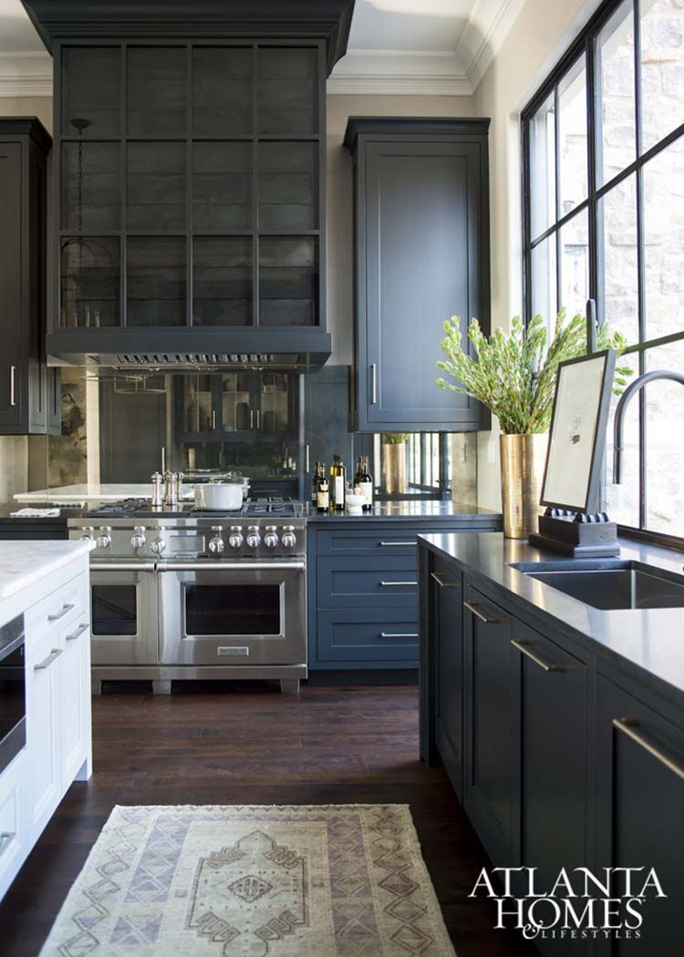 dramatic black kitchens that make a bold statement black