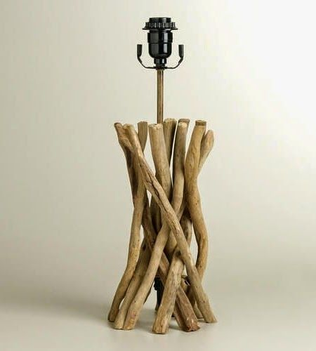 Stylish Driftwood Floor Lamp For Your Decor And Lighting Ideas