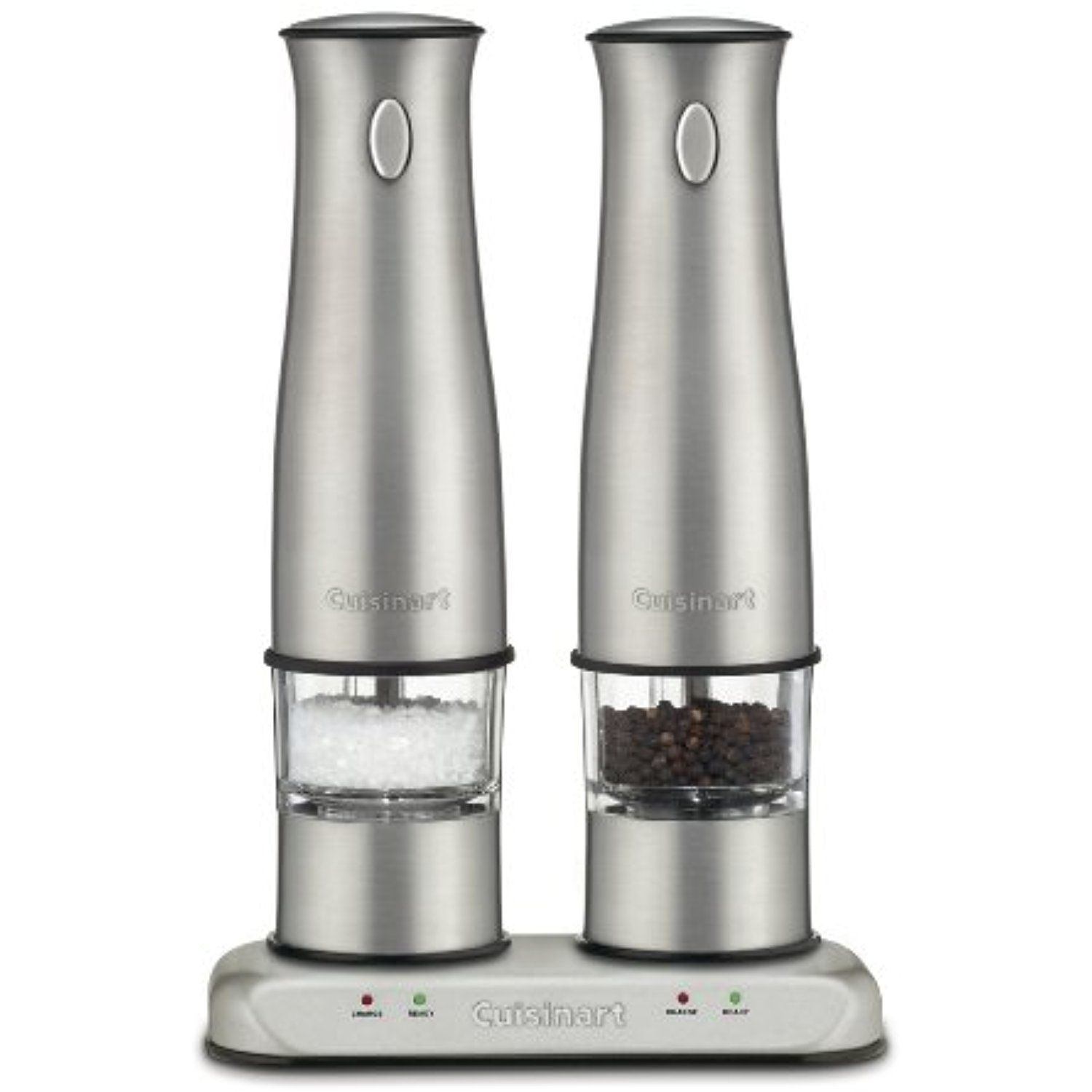 Cuisinart Sp 2 Stainless Steel Rechargeable Salt And Pepper Mills Click Image To Review More Details This Is An Affiliate Link Kitch With Images Salt And Pepper Mills