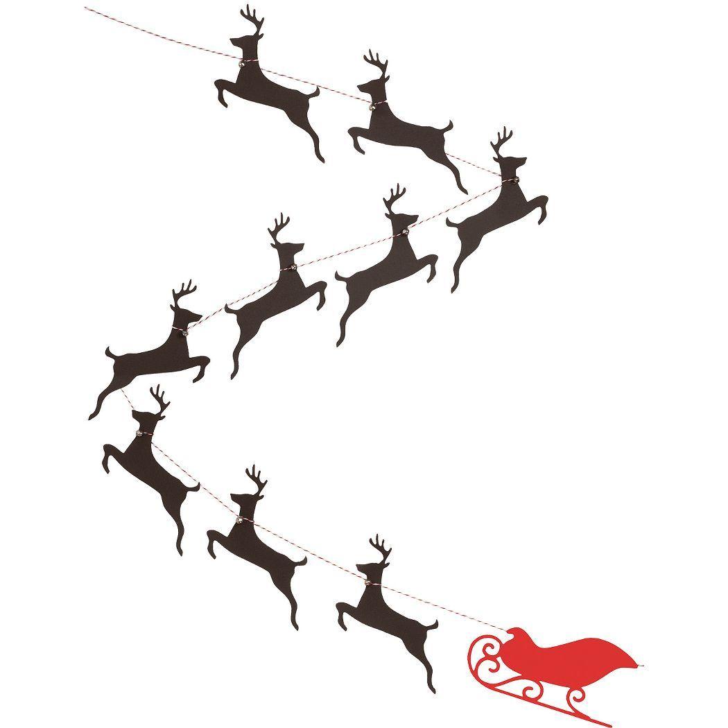 Reindeer Amp Sleigh Garland Kit