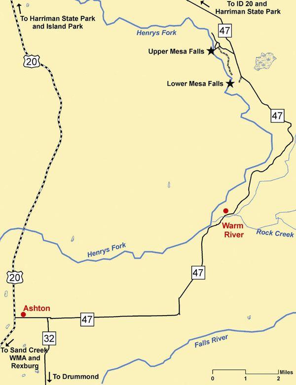 mesa falls idaho map Mesa Falls Idaho Map Hike Explore Idaho Harriman State Park River Falls mesa falls idaho map