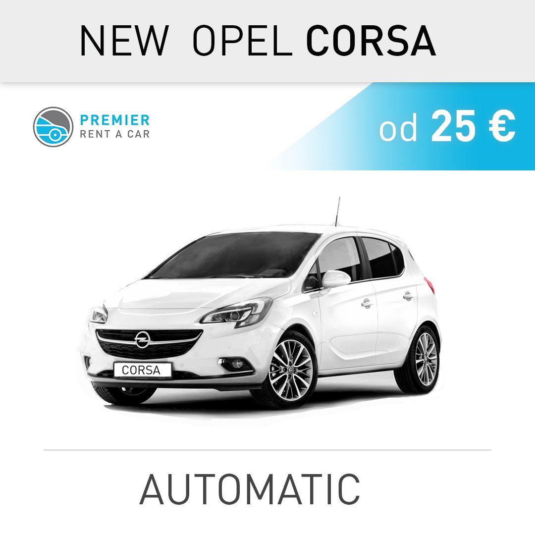 OPEL CORSA - automatic from 25 € / per day 📍 Aerodrom ...