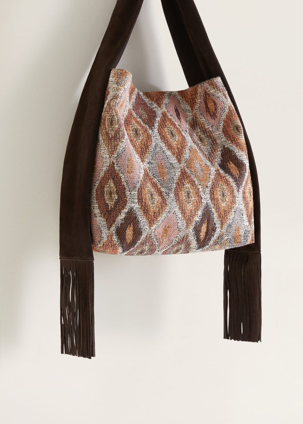 Photo of Fringe hobo bag –  Women | Mango USA