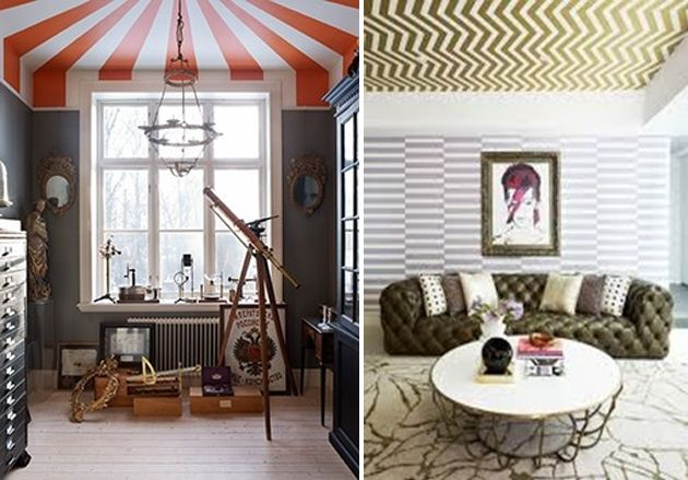 Floor to Ceiling Paint Designs | Paint ceiling, Study ...