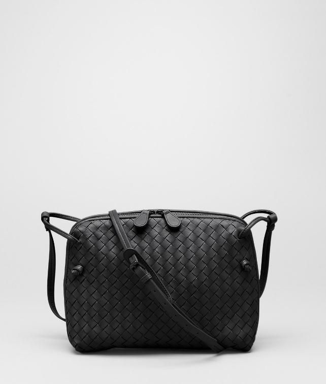 9db1e67ab2 Nero Intrecciato Nappa Cross Body Bag - Women s Bottega Veneta® Crossbody  Bag - Shop at the Official Online Store