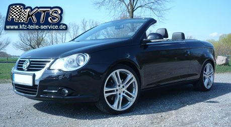 vw eos mit dbv mauritius 19 zoll alufelgen vw felgen. Black Bedroom Furniture Sets. Home Design Ideas