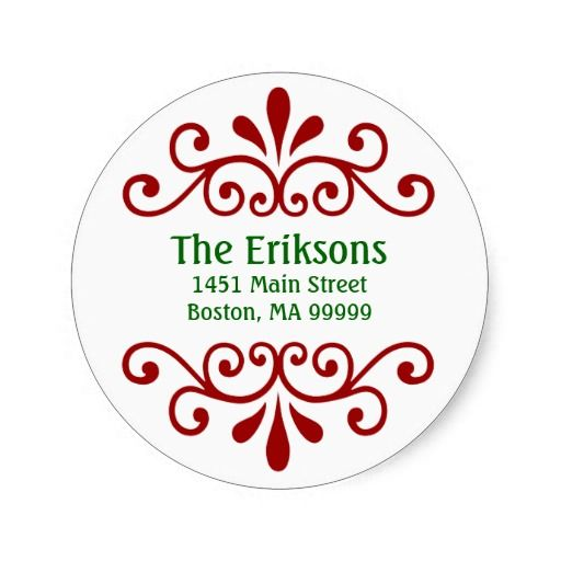 personalized christmas address labels christmas gift ideas