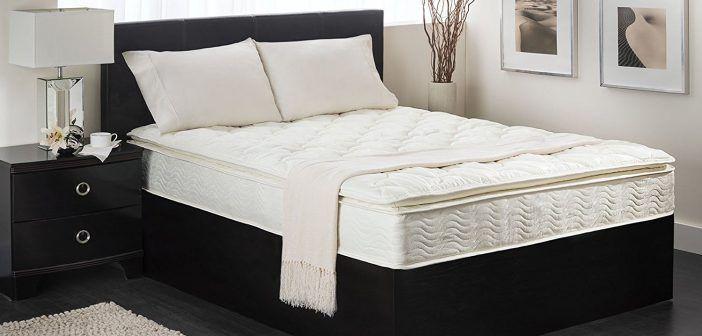 Textrade Usa Inner Spring Pillow Top Mattress In A Box Reviews Pillow Top Mattress Mattress Springs Mattress