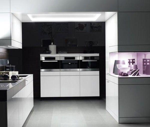 Wonderful New Trend 2012 Modern Kitchen Design Furniture Set
