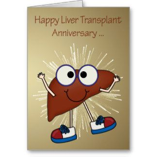 Anniversary of liver transplant greeting cards cards 1donate life anniversary of liver transplant greeting cards cards m4hsunfo