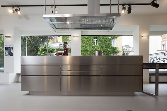showroom designerk chen arclinea k chen frankfurt kitchen pinterest k che. Black Bedroom Furniture Sets. Home Design Ideas
