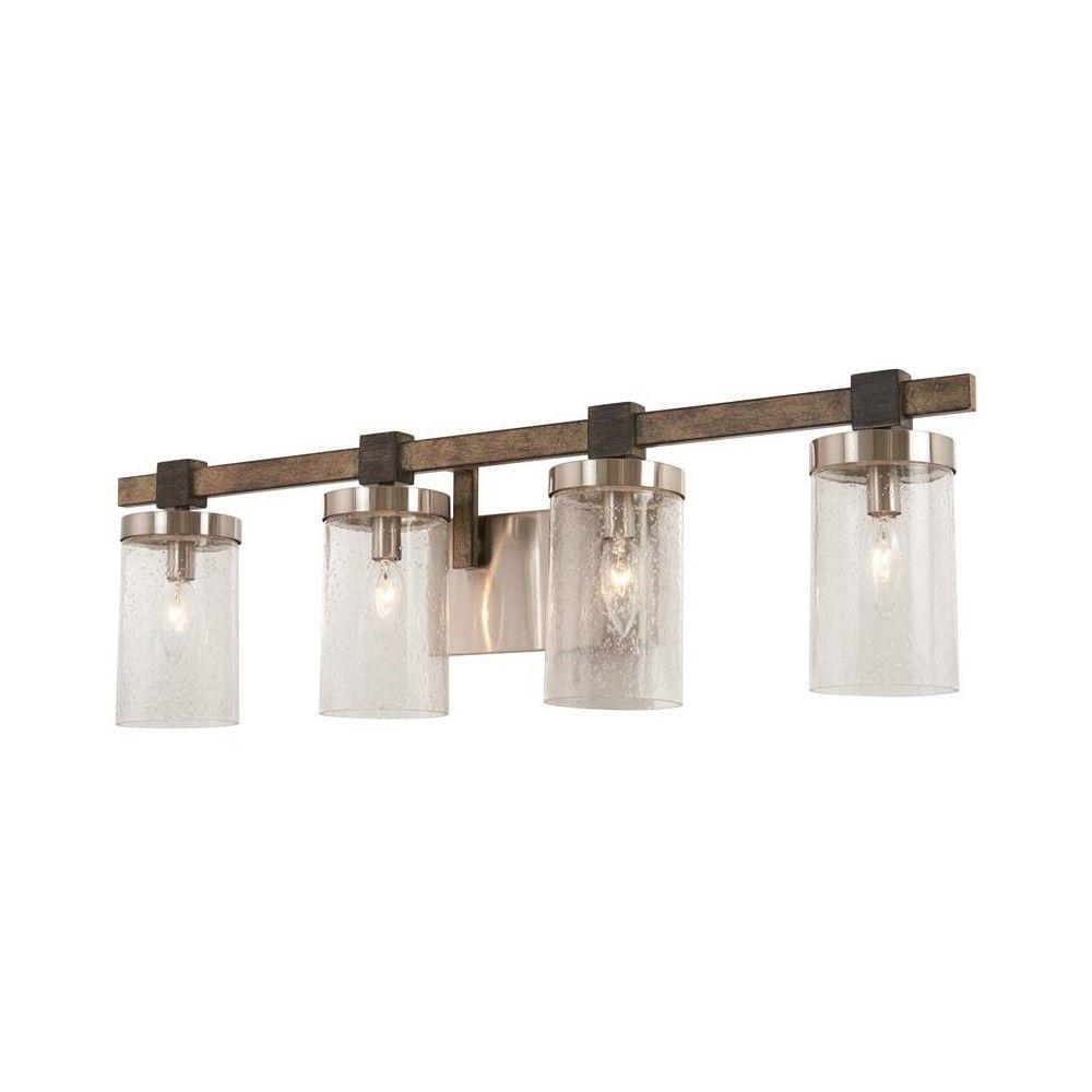 Minka Lavery 4634 Bridlewood 4 Light 31 Wide Bathroom Vanity