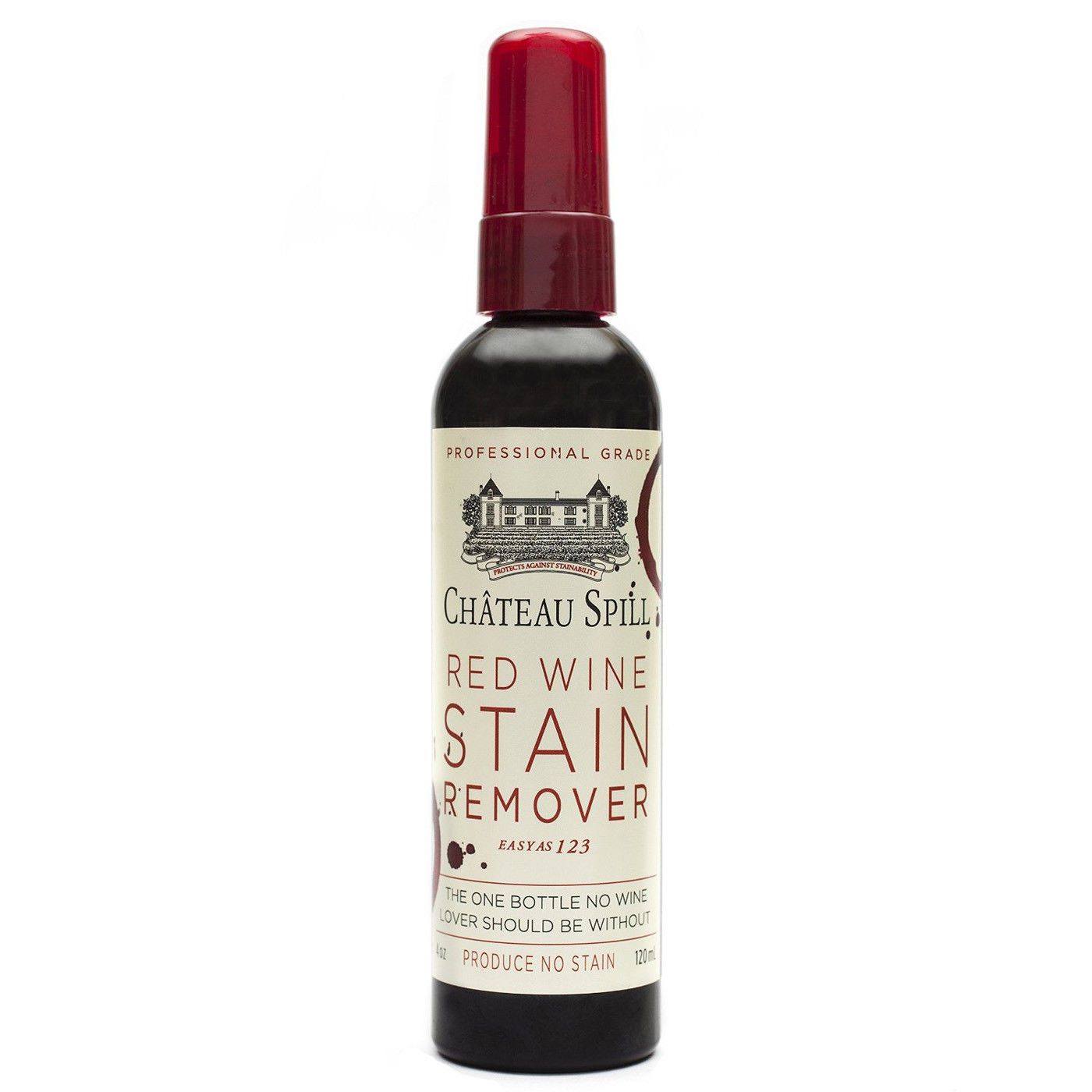 7 95 Chateau Spill Red Wine Stain Remover 4 Ounce Spray Bottle 120ml Ebay Home Garden Wine Stain Remover Red Wine Stains