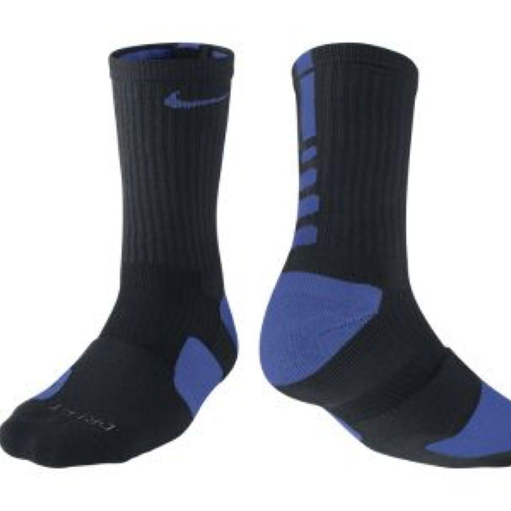 Nike Elite socks black royal blue | Socks | Nike ...