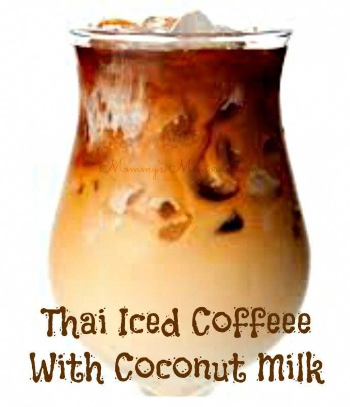 Thai Iced Coffee With Coconut Milk. Sweetened condensed milk adds luxurious richness to freshly brewed, chilled coffee in this refreshing pick-me-up. This Thai Iced Coffee recipe combines my love for espresso with a taste of the tropics in coconut milk. Enjoy! MILK,