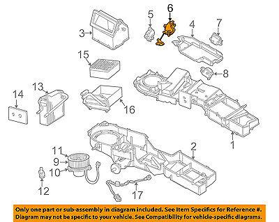 Nice Dodge Chrysler Oem 02 06 Ram 1500 4 7l V8 Evaporator Heater Actuator 5073985aa For Sale Chrysler Actuator Oem