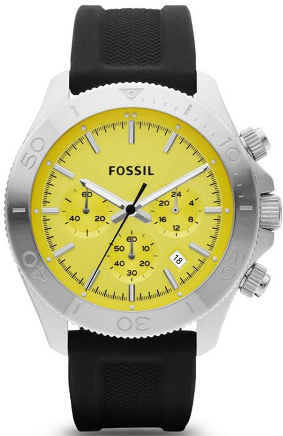cc4c2bb20f1 CH2852 - Authorized Fossil watch dealer - MENS Fossil RETRO TRAVELER ...
