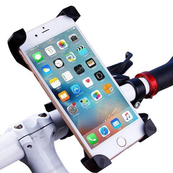 Support De Téléphone Mobile Portable Rotatif Pour Voiture Vélo Bicyclette
