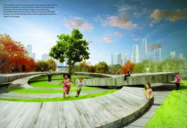 Re Thinking Public Space In Shanghai Public Space Urban Design Architecture Park Landscape