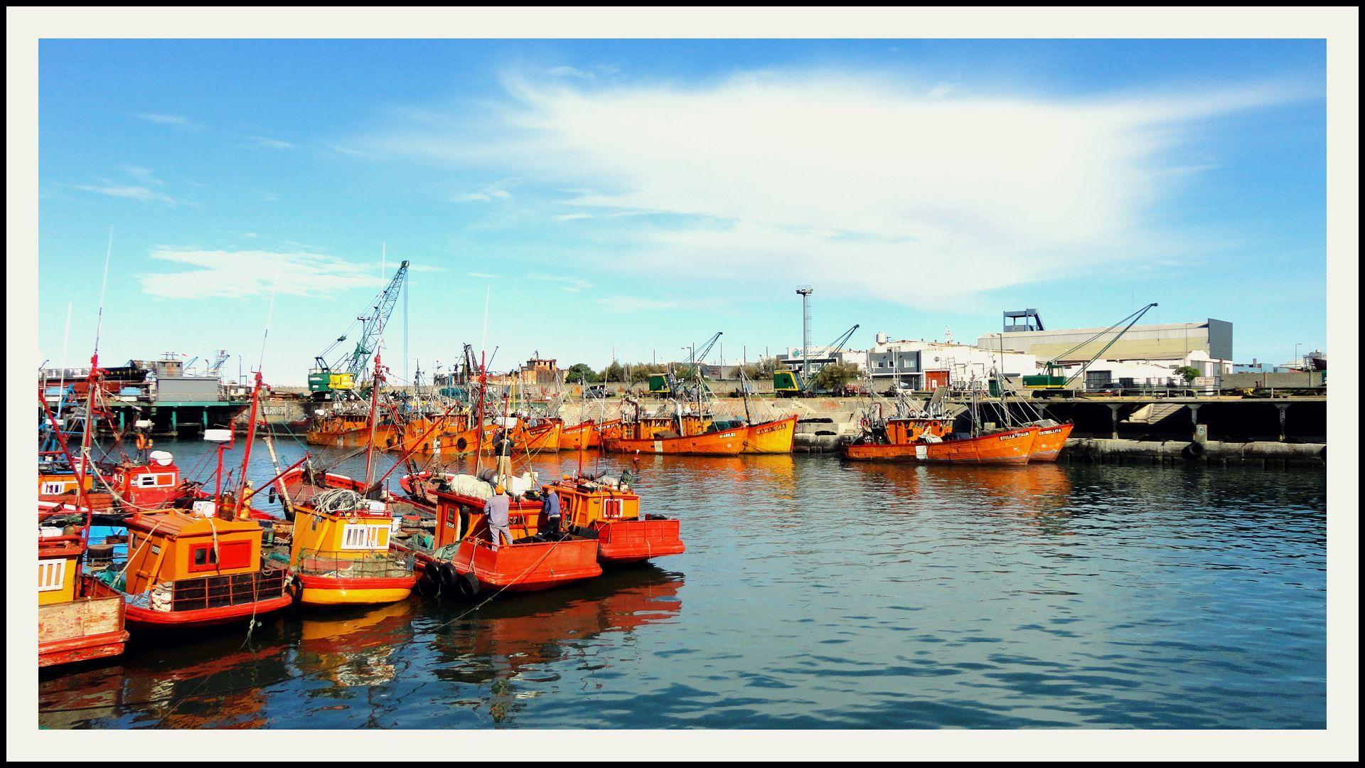 MAR DEL PLATA /Puerto 2014 septiembre -------------------------------- PH:Mauro Tapia Hidalgo Post Color:MTH
