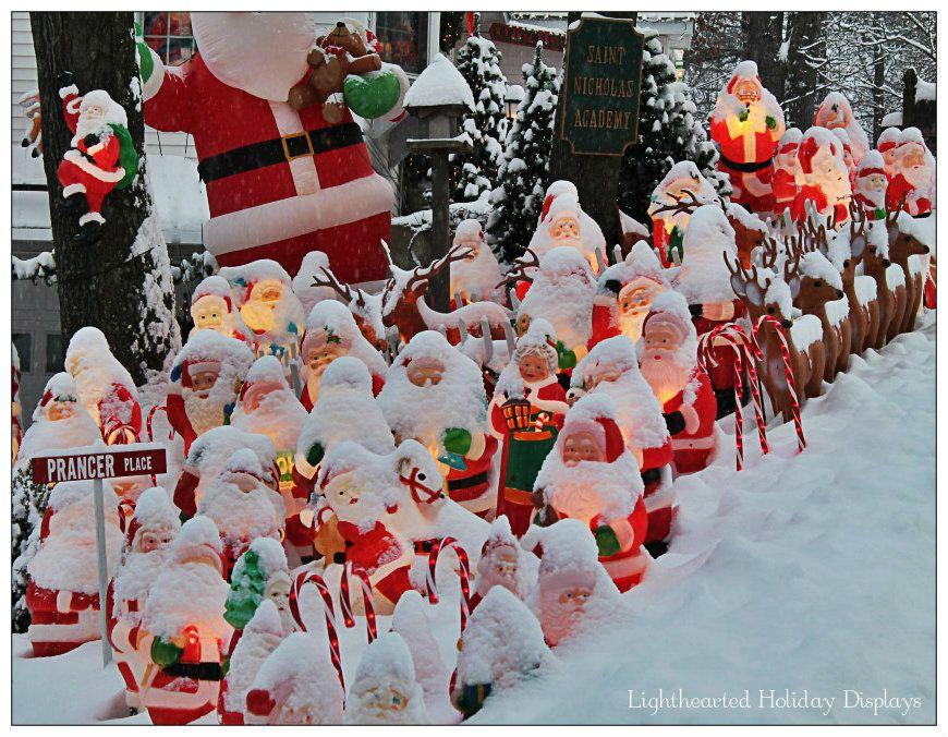 Santa School on a snow day.